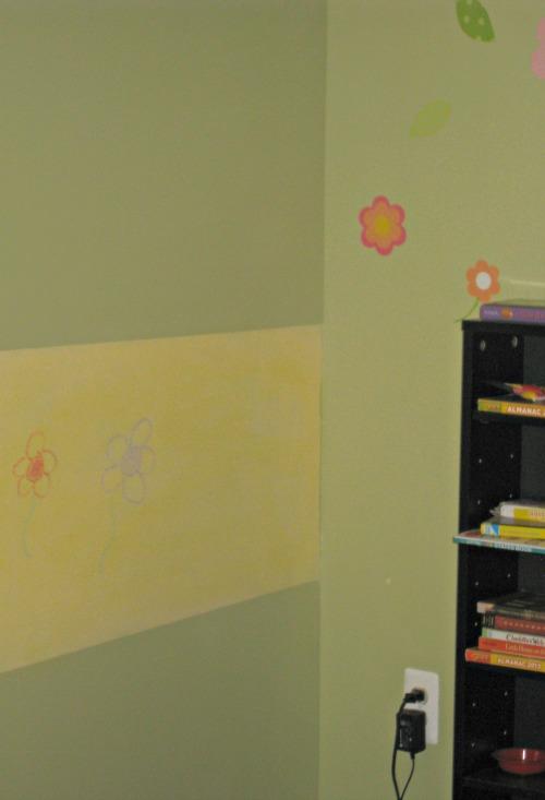 chalkboard wall, paint