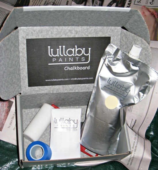 lullaby paints, chalkboard, kit, low VOC
