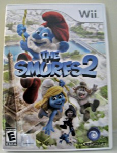 the smurfs 2, video game, Wii