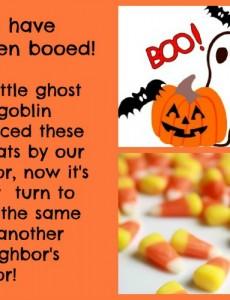Halloween boogram
