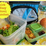 Quick and Healthy School Lunches