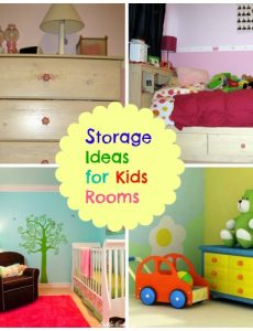 storage for kids rooms