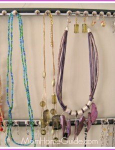 diy picture frame jewelry organizer