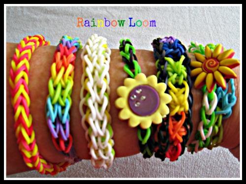 raimbow loom bracelets