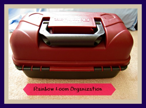 rainbow loom, organization