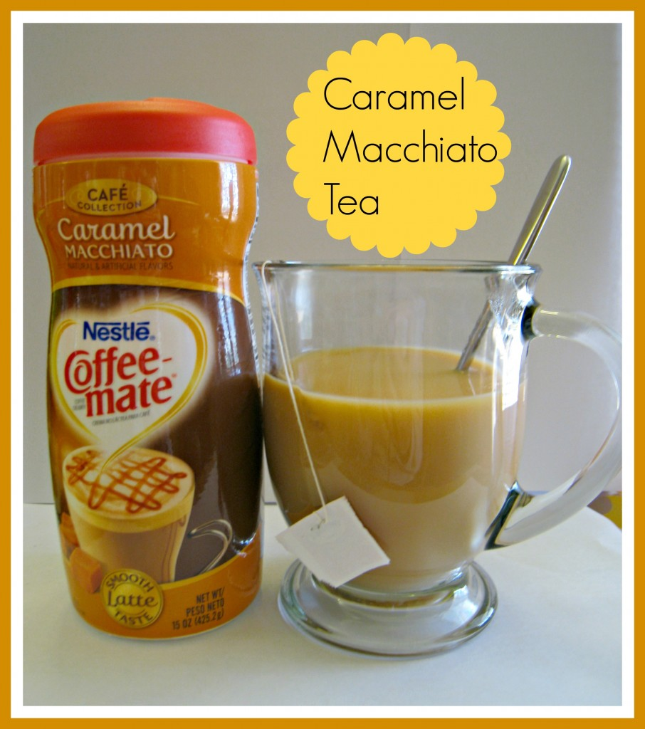 coffee mate caramel macchiato tea