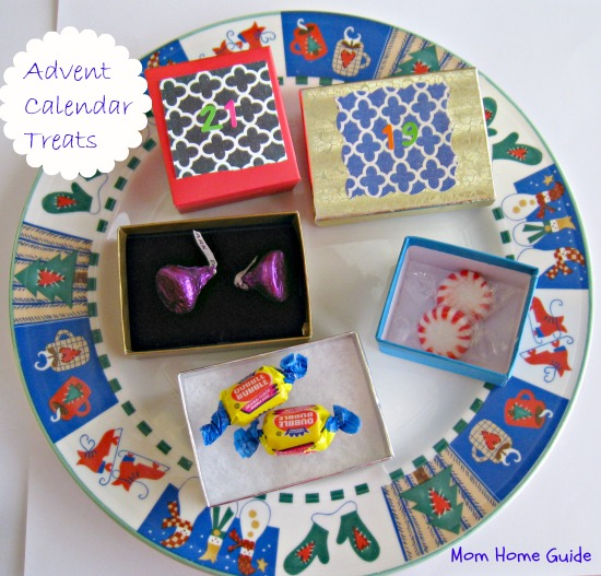 Christmas advent calendar gifts