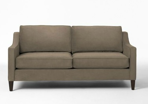 paidge, west elm, sofa, hazy taupe