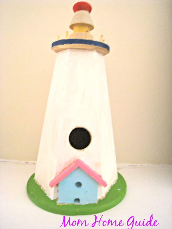 diy, craft, painted, bird, house