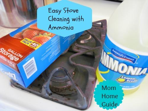 clean, stove, grate, ammonia