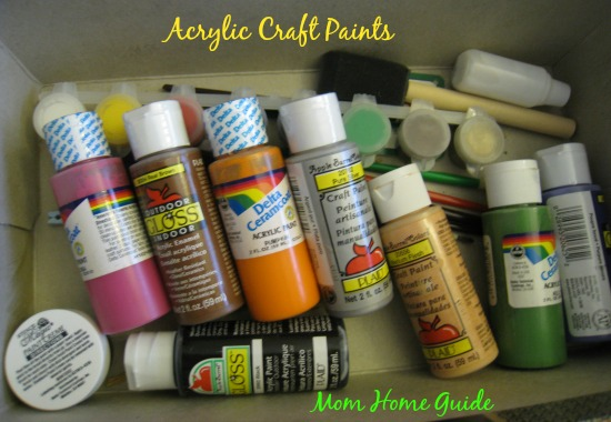 paint, acrylic, craft