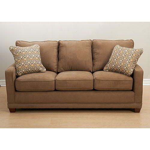 lazy boy, acorn, brown, sofa
