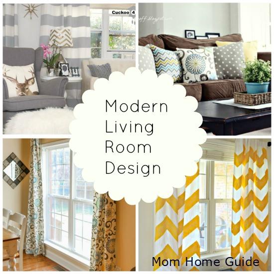 modern, living room, design