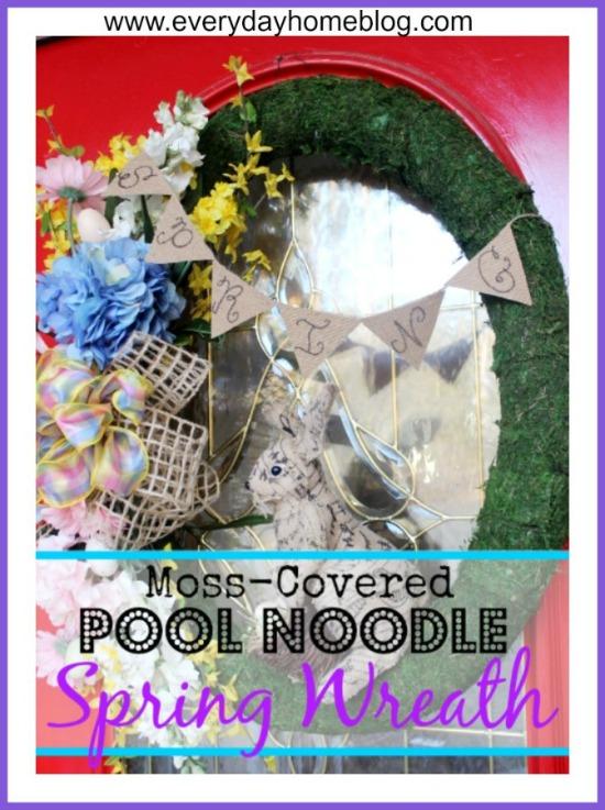 moss, spring, wreath