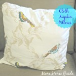 cloth, napkin, pillow, sew