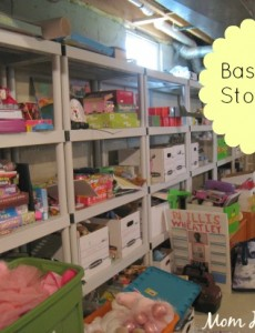 shelves, basement, storage