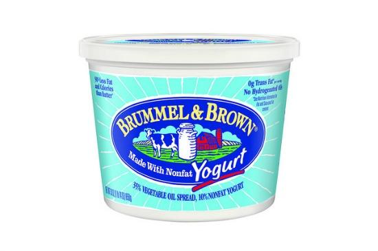 brummel, brown, yogurt, butter, spread