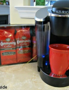 community coffee, military match