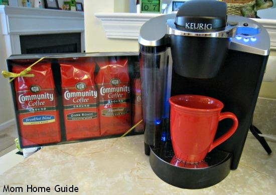 community coffee, military match