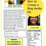 How to Make a Blog Media Kit