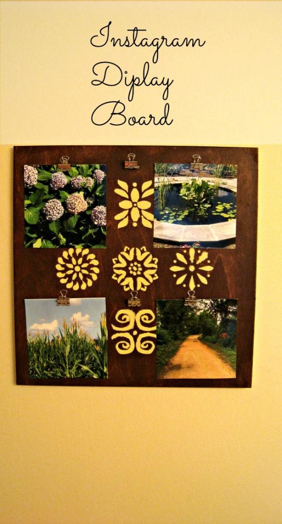 instagram, display board, diy, craft