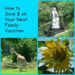 5 Family Vacation Money Saving Tips: #inexpensivevacation