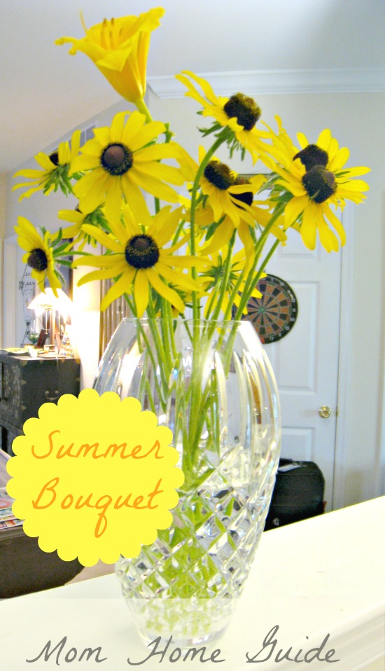 summer, bouquet, black, eyed, susans