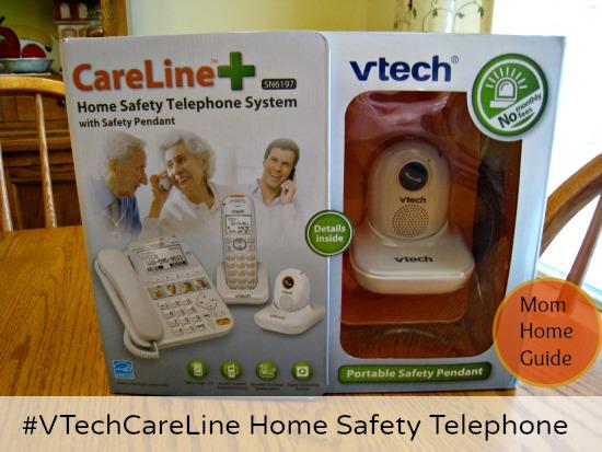 #VTechCareLine, home, safety, senior, phone