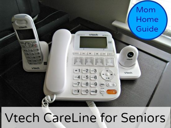 vtech, safety, phone, seniors, emergency