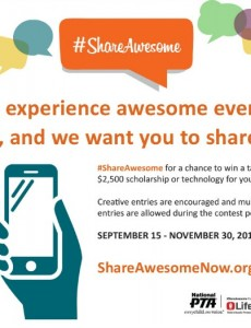 #shareawesome digital advocacy campaign