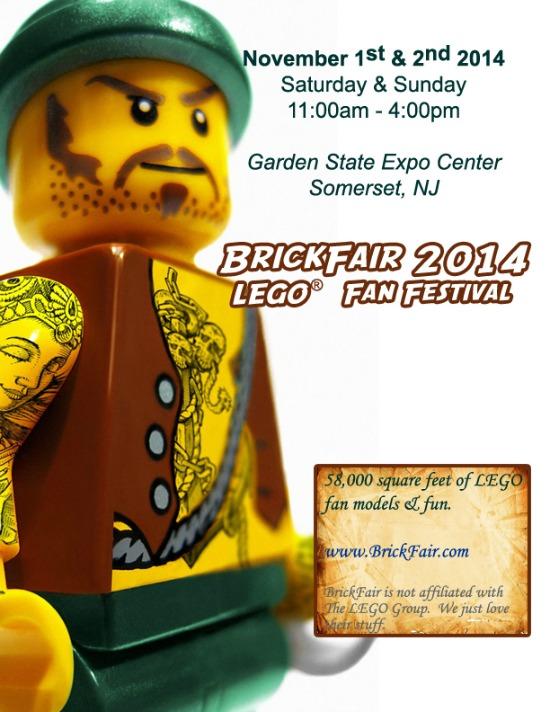 NJ, Brickfair, Lego, fan, festival, win, giveaway, 2014