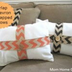 Ask Anna: Burlap Wrapped Fall Pillows