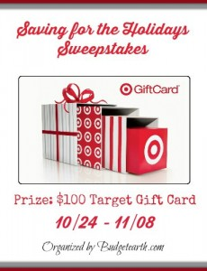 savings for the holidays sweepstakes giveaway