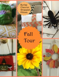 blogger fall home tour
