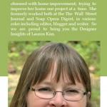 Designer Insights with Lauren Kim @ Terrys Blinds