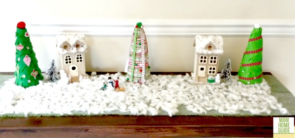 DIY christmas village