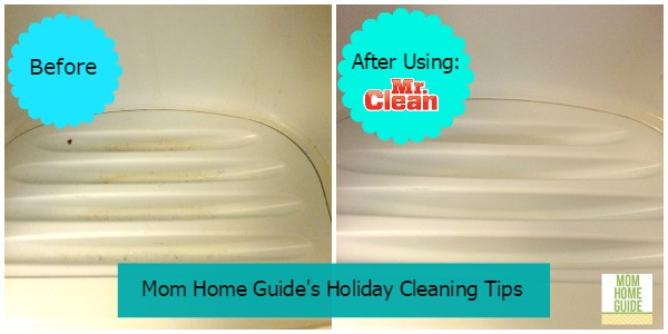 cleaning with mr. clean magic eraser