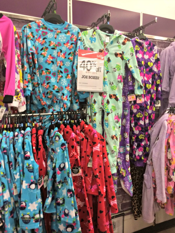 Joe Boxer PJs for girls available at Kmart