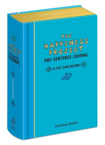Happiness Project One Sentence Journal