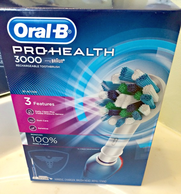 oral b pro health 3000 toothbrush