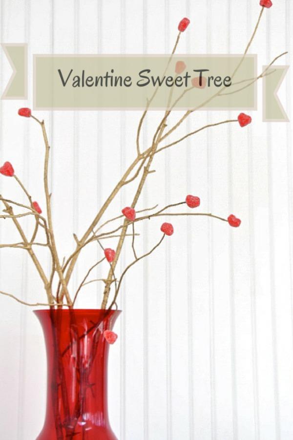 valentine gumdrop tree
