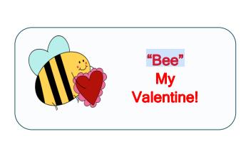 bee my valenine