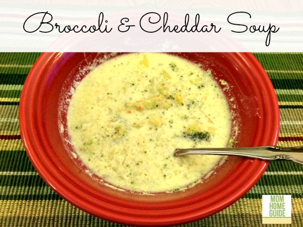 broccoli and cheddar crockpot soup
