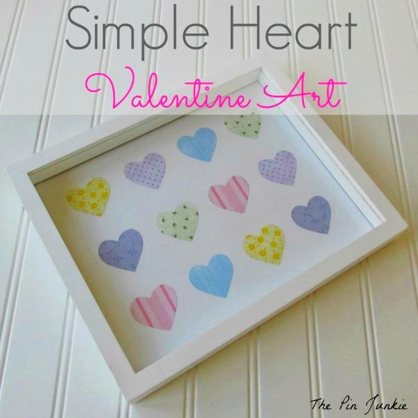 valentine scrapbook paper art