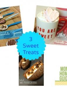 three sweet treats recipes