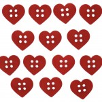heart buttons for crafts