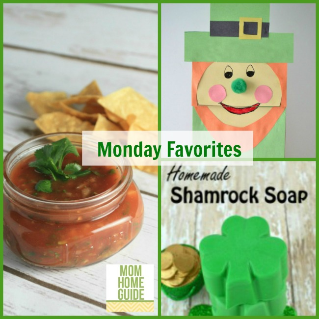 link up party favorite crafts and recipes for St. Patrick's Day