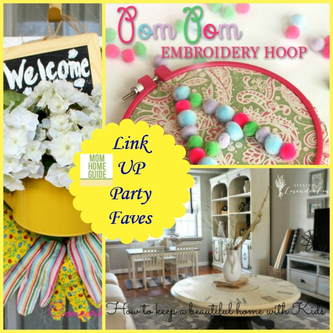 link up party favorites and picks from Mom Home Guide