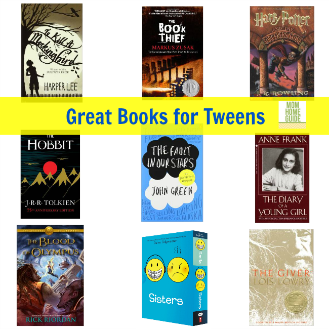 great books for tweens