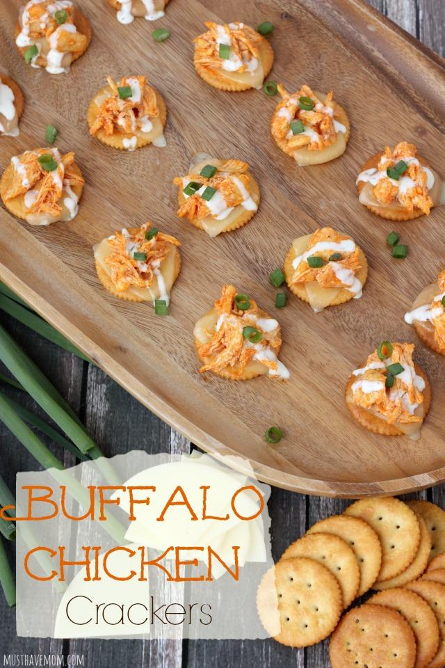 buffalo chicken crackers recipe